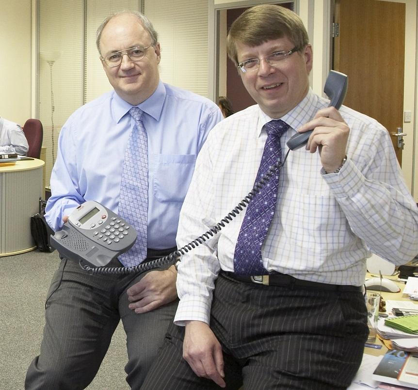 Customer Office David Read with Peter Savic Plum@GatleyRead-015